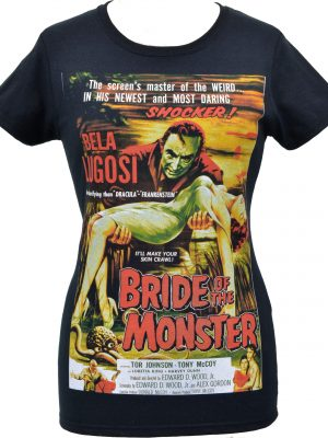 Bride of the Monster Ladies T