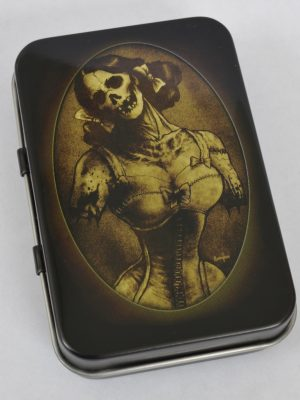 Screaming Demons Dead Corset Lady Tin