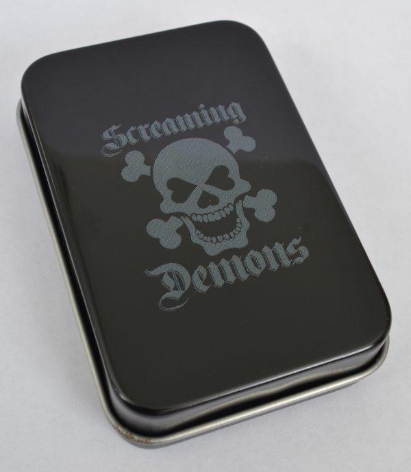 Screaming Demons Dead Corset Lady Tin