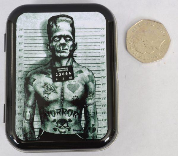 Screaming Demons Frankenstein Monster Tin
