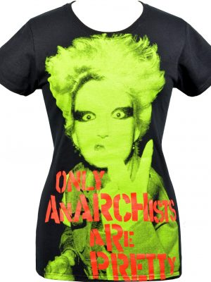 ONLY ANARCHISTS Ladies Black T-Shirt