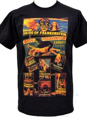Frankensteins Bride Mens T Shirt