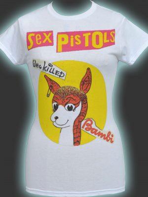 Sex Pistols Bambi Ladies T