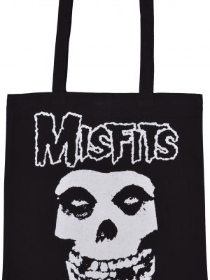 Misfits Skull Shopping Bag
