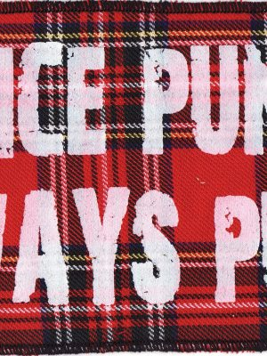 Once a Punk Always Punk Patch