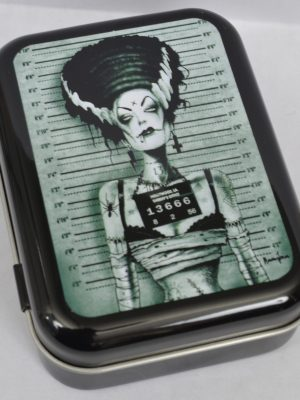 Screaming Demons Frankenstein Bride Tin