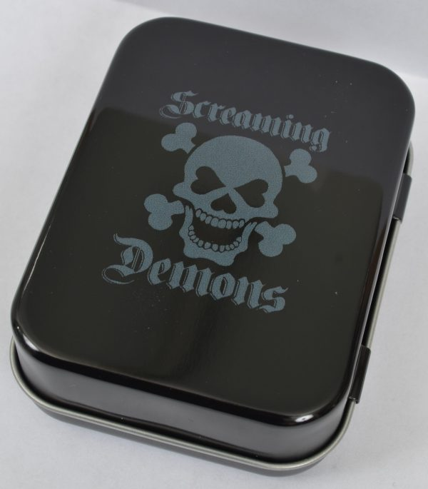 Screaming Demons Blue Death Tin