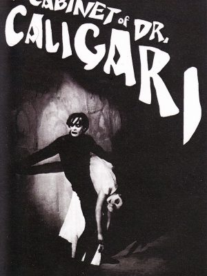 CABINET OF DR CALIGARI STICKER