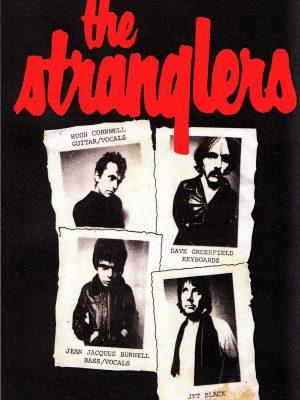 The Stranglers Polaroid Sticker