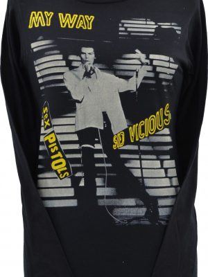 Sid Vicious My Way Ladies Long Sleeve Top
