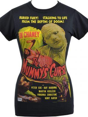 The Mummy's Curse Ladies T-Shirt