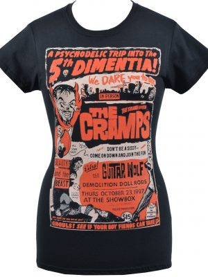 The Cramps 5th Dimentia Ladies T-Shirt