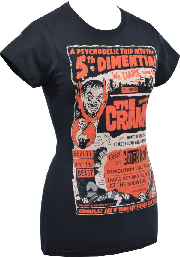 The Cramps 5th Dimentia Ladies T-Shirt