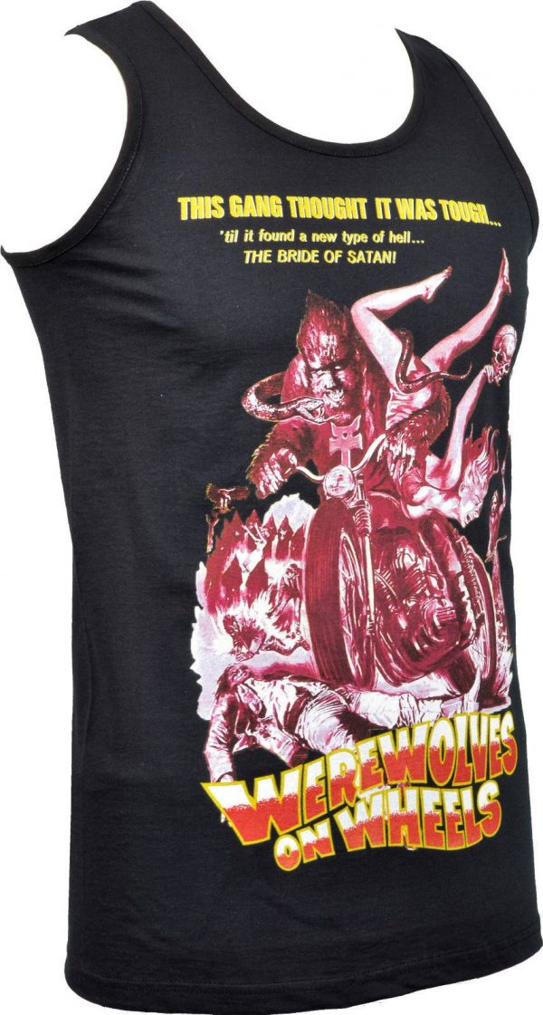 Werewolves on Wheels Mens Vest