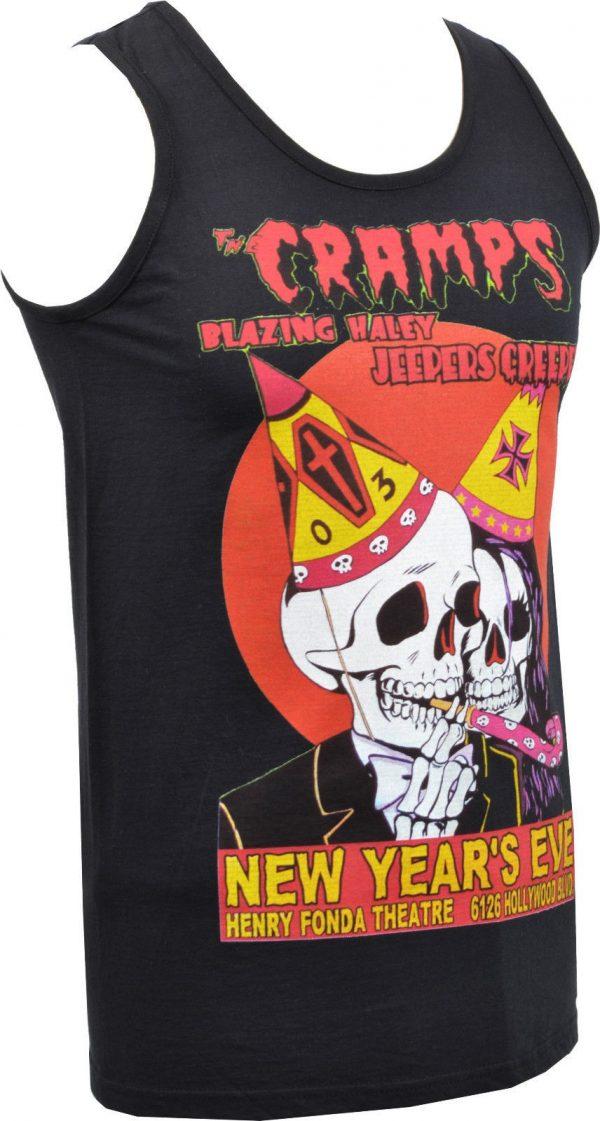 The Cramps NYE Mens Vest
