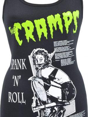 The Cramps Spank 'N' Roll Ladies Tank Top