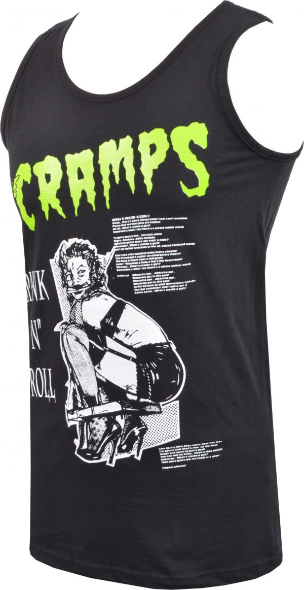 The Cramps Human Fly Mens Vest