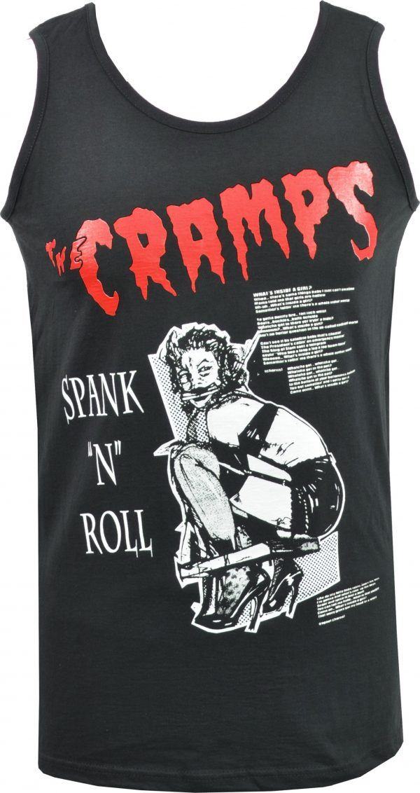 The Cramps Spank 'N' Roll Mens Vest