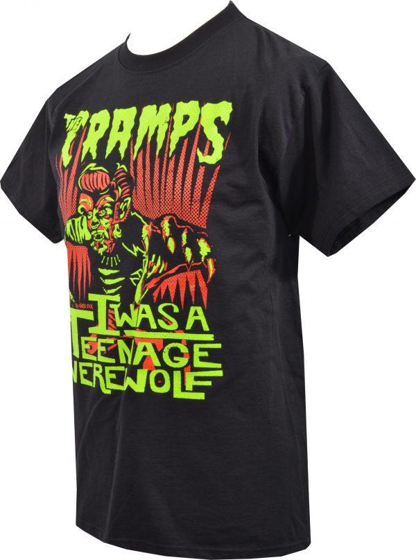 The Cramps Teenage Werewolf Mens T-Shirt