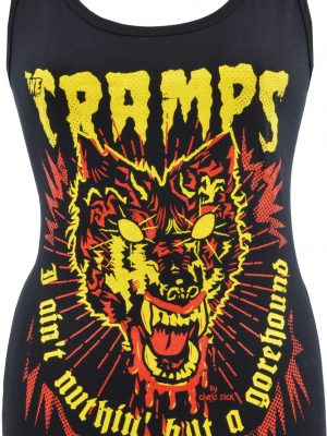The Cramps Gorehound Ladies Tank Top