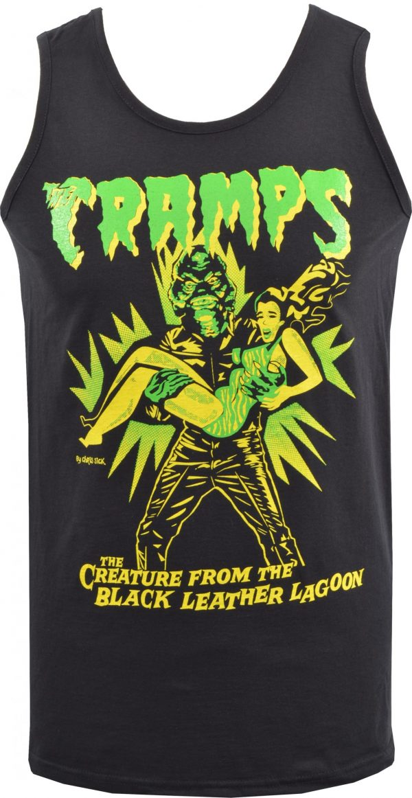 The Cramps Teenage Werewolf Mens Vest