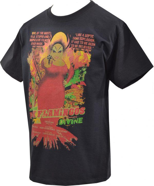 Pink Flamingos Divine Mens T-Shirt