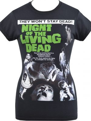 Night of the Living Dead Ladies T-Shirt