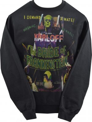The Cramps Black Leather Unisex Sweatshirt