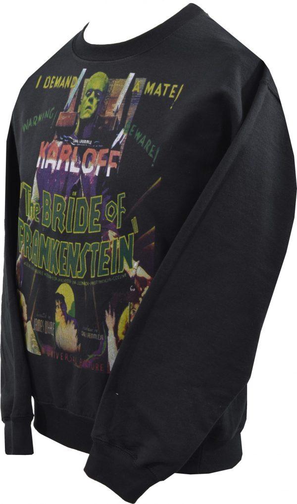 The Cramps Black Leather Unisex Sweatshirt