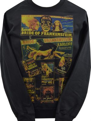 Bride of Frankenstein Poster Unisex Sweatshirt