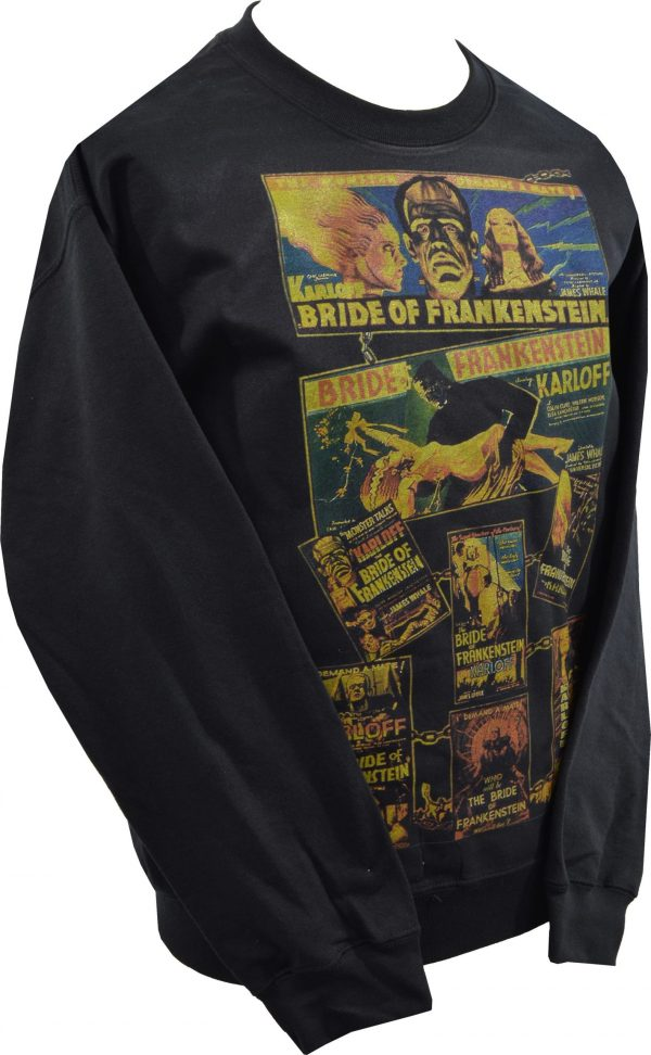 Bride of Frankenstein Poster Unisex Sweatshirt