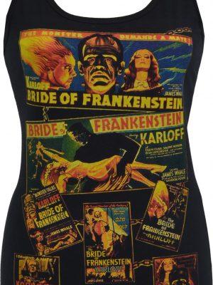 Bride of Frankenstein Poster Ladies Tank Top