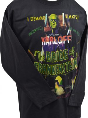 Bride of Frankenstein Mens Long Sleeve Top