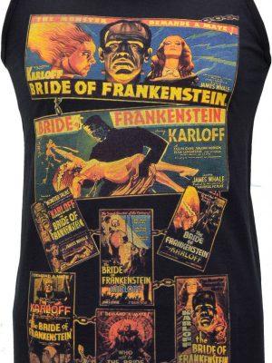 Bride of Frankenstein Poster Mens Vest