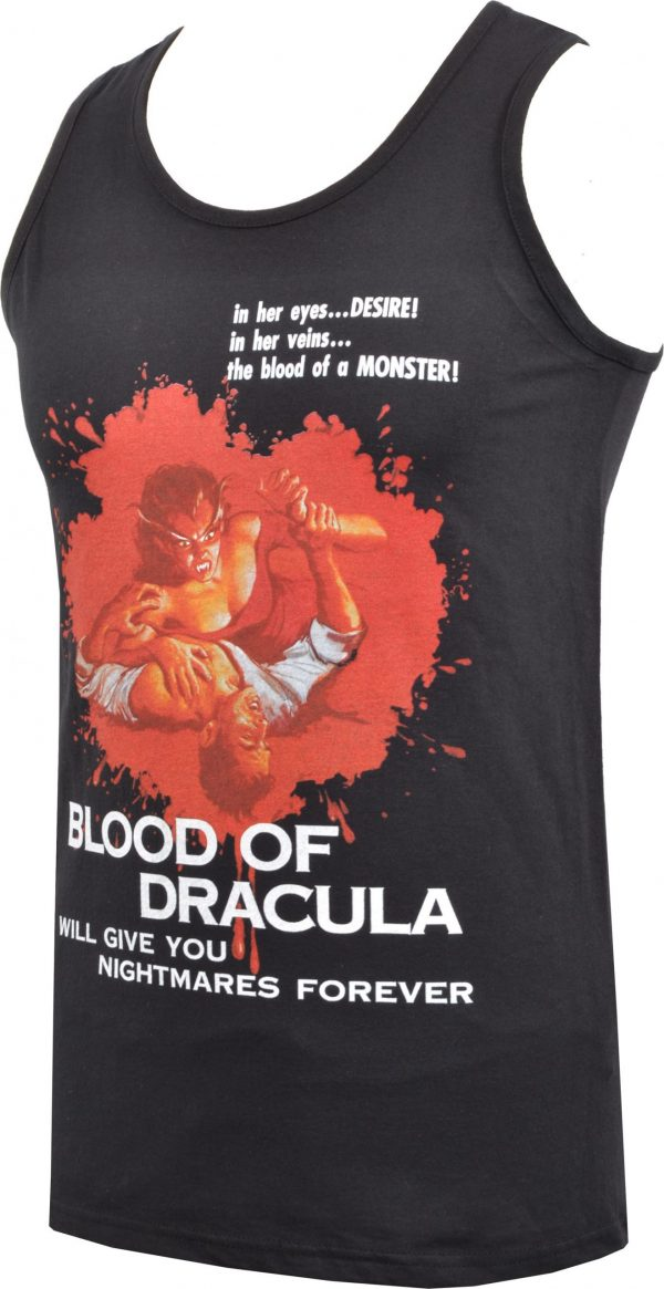 Draculas Daughter Mens Vest