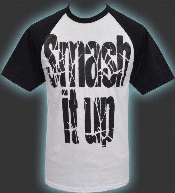 Smash it up Mens Raglan T-Shirt