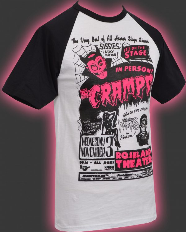 The Cramps Spank 'N' Roll Mens T-Shirt