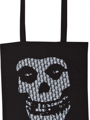 Misfits Multi Skull Shopping Bag