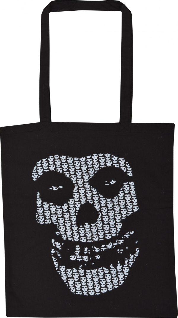 Misfits Multi Skull Shopping Bag