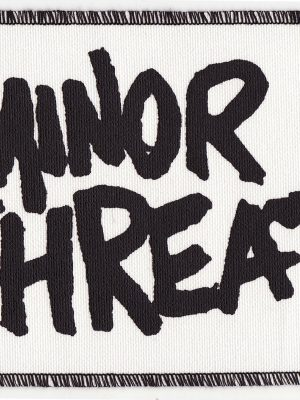 Minor Threat White Patch