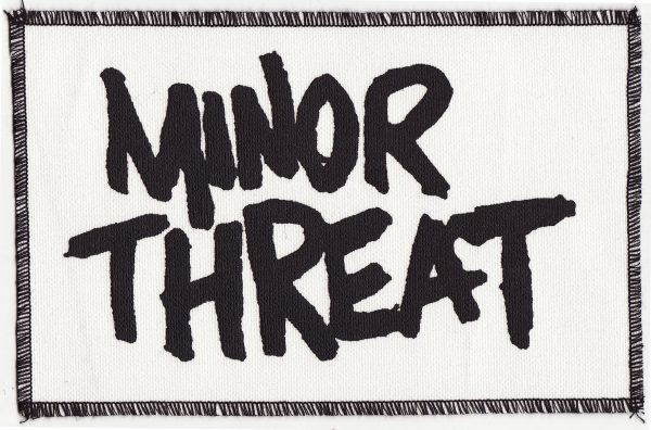 Minor Threat White Patch