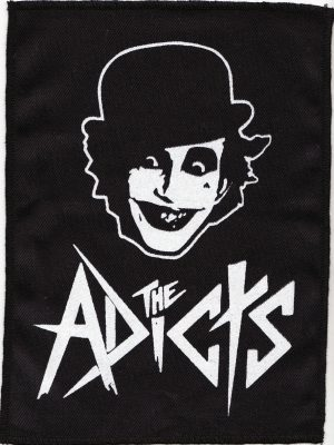 The Adicts Blue Tartan Patch