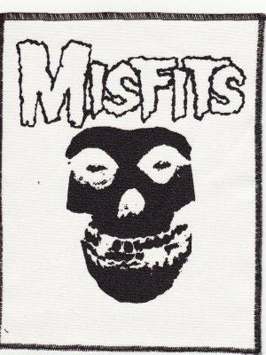 The Misfits Pink Tartan Patch