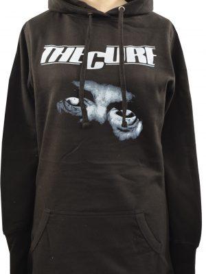 The Cure Ladies Long Hoodie