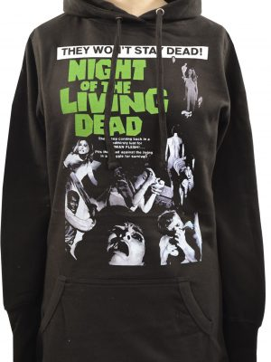 Night of the Living Dead Ladies Long Hoodie