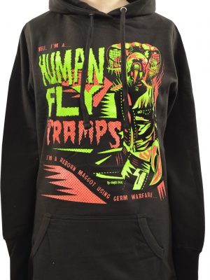 The Cramps Human Fly Ladies Long Hoodie