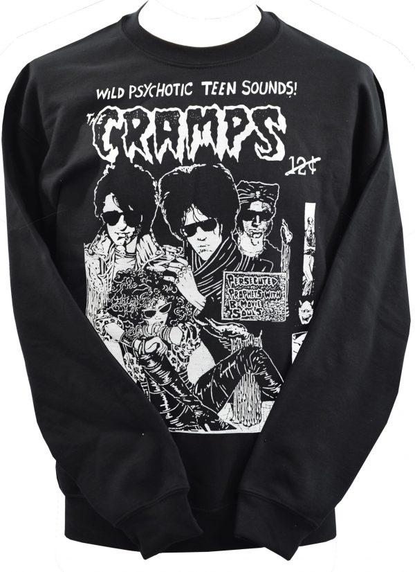 The Cramps Psychotic Teen Unisex Sweatshirt