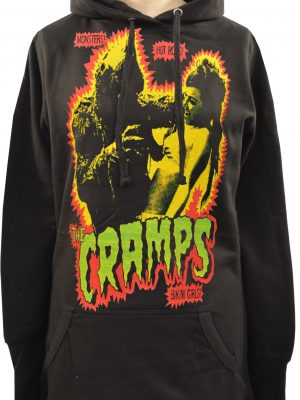 The Cramps (Green) Ladies Long Hoodie