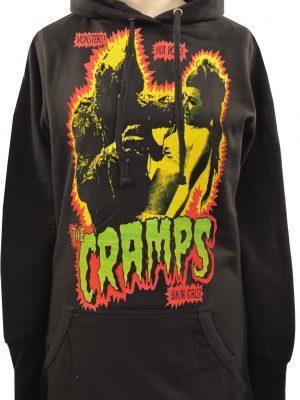 The Cramps (Green) Ladies Long Hoodie