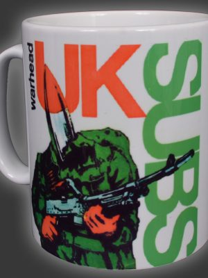UK Subs Work in Progress Mug
